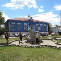 Памятник Козе в Урюпинске, Урюпинск