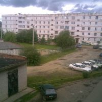 Гайдара дом 12 - Вид с балкона, Бабаево