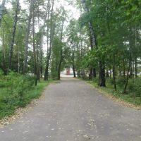Вокзал (вид из парка), Бабаево