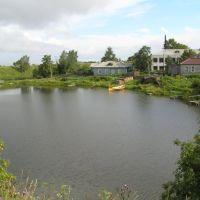 г.Белозерск, озеро в центре, Белозерск