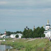 Панорама Устюга. День города 2008., Великий Устюг