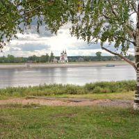 Вид на Сухону и Дымковскую слободу., Великий Устюг