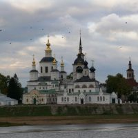 Вид из Дымково на Соборное Подворье Великого Устюга, Великий Устюг