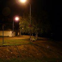 Ночная скамейка, Великий Устюг