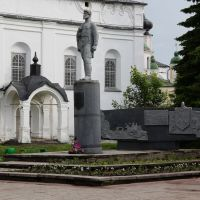 Памятник Дежнёву Семёну Ивановичу, Великий Устюг