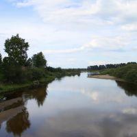 река Вага в Верховажье, Верховажье