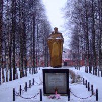 Памятник. The monument, Вожега