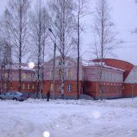Дом культуры. The palace of culture, Вожега