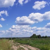 Дорога в облака., Вожега