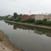 Россия: Вологда: Нижний Посад: река Вологда; 18:15 11.08.2006, Вологда