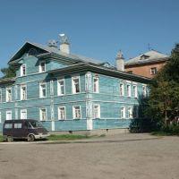 Россия: Вологда: Заречье: ул.Некрасова,1; 16:44 13.07.2006, Вологда