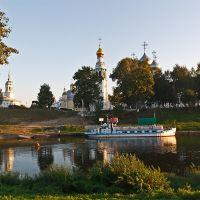 Вологодская флотилия, Вологда