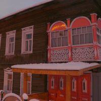 Памятник деревянного зодчества/wooden architecture/, Вологда
