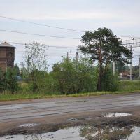 ул. Линейная, поселок Вохтога, Вологодская область, Россия, Вохтога