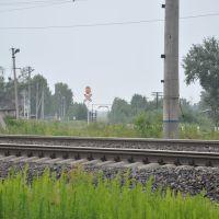 Монзенская железная дорога, поселок Вохтога, Вологодская область, Россия, Вохтога