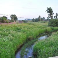 река Вохтожка, поселок Вохтога, Вологодская область, Россия, Вохтога