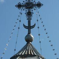 Vytegra. Cross at the Cathedral / Крест на соборе Сретения Господня, Вытегра