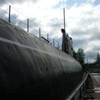 Submarine B-440 (museum) — Подводная лодка-музей Б-440, Вытегра
