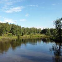 Vytegra River / река Вытегра, Вытегра