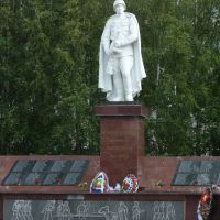 Вытегра. Памятник воинам-вытегорам / Monument to fallen soldiers (1941-1945) from the town Vytegra, Вытегра