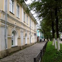 Проспект Ленина - основная артерия Грязовца, Грязовец