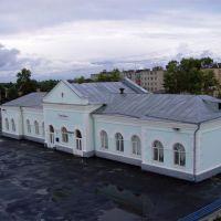 Вокзал города Грязовец, Грязовец