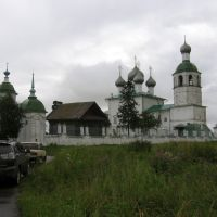 Kadnikow. Elias the Prophet church., Кадников
