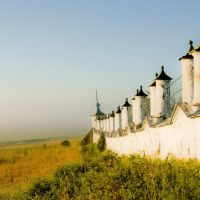 у стен Ильинско-Засодимской церкви, Кадников