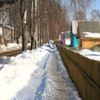 Март на ул. Мира, Кадуй