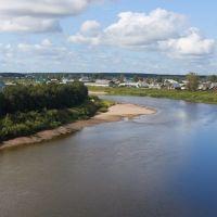 Yug river, Кичменгский Городок