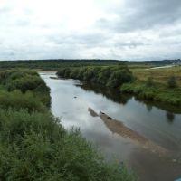 Река Кичьменьга, Кичменгский Городок
