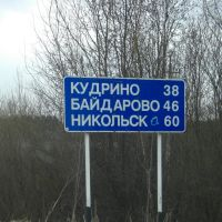 Трасса Р157 / Route R157, Кичменгский Городок