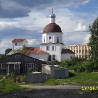 Church(view toward north). Церковь(снято с юга на север), Липин Бор