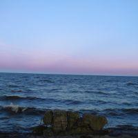 Белое озеро ранним утром, Липин Бор