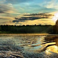 Утро на реке Юг, Никольск