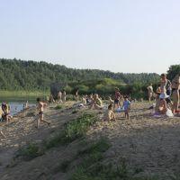 Пляж, Нюксеница