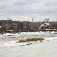 Панорама Тотьмы, Тотьма