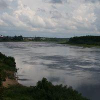 Сухона у Тотьмы., Тотьма