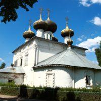 The Bogoyavlensky Cathedral, Устюжна