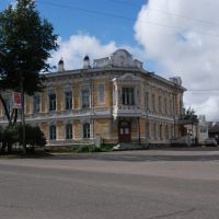 Библиотека в Устюжне, Устюжна
