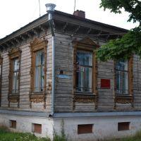Домик в вологодском стиле., Устюжна