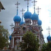 Церковь Казанской иконы Божией Матери, Устюжна