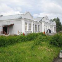 здание станции, Харовск