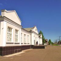 Станция Харовская. Вокзал., Харовск