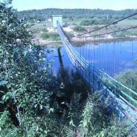 мост через р Кубена, Харовск