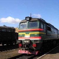 Тепловоз М62 подают под пригородный поезд Хвойная-Будогощь., Чагода