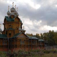 Деревянный храм в честь прпмч. Ефросина Синозерского, Чагода