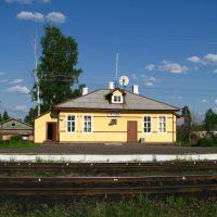 Railway station. Chagoda, Чагода