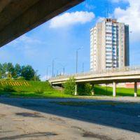 под мостом, Череповец