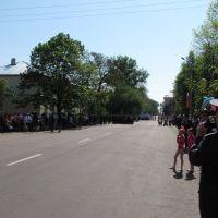 Бобров. Парад 9-го мая 2010 года., Бобров